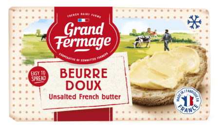 Frozen unsalted butter 200g