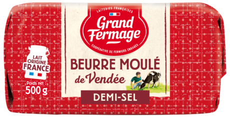 Beurre Moulé de Vendée demi-sel