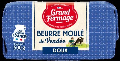 Beurre Moulé de Vendée doux