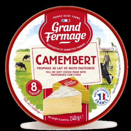 Camembert portions