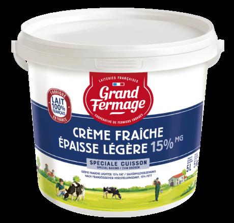 Crème Fraîche 15% fat 5L