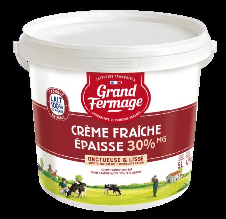 Crème Fraîche 30% fat 5L