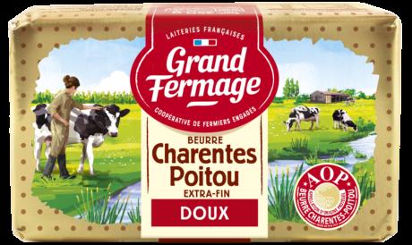 Beurre doux Charentes-Poitou AOP