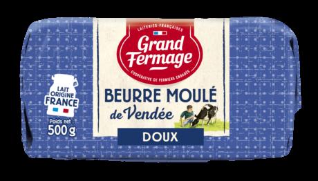 Unsalted Vendée Moulded Butter