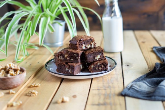 Salted butter brownies