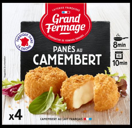 Panés au camembert