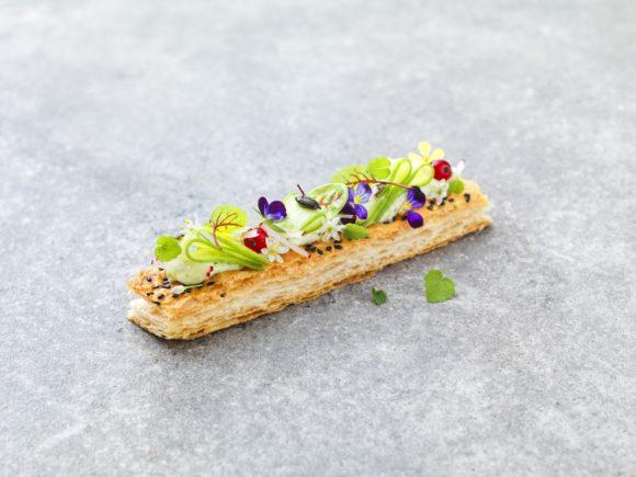 Vegetable pastry,  the freshness of summer