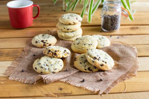 Cookies aux pépites de chocolat et beurre salé