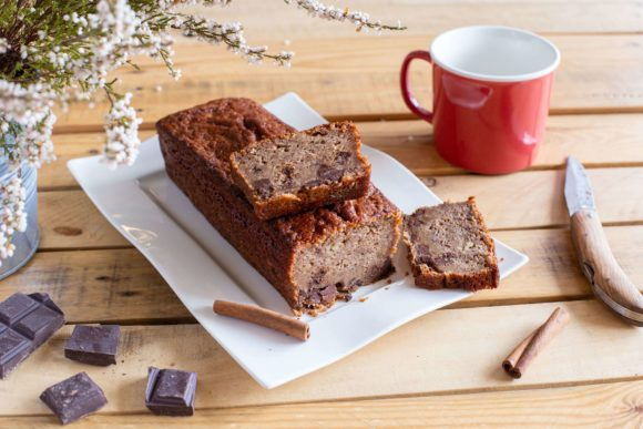 Ultra moist banana bread with chocolate chips