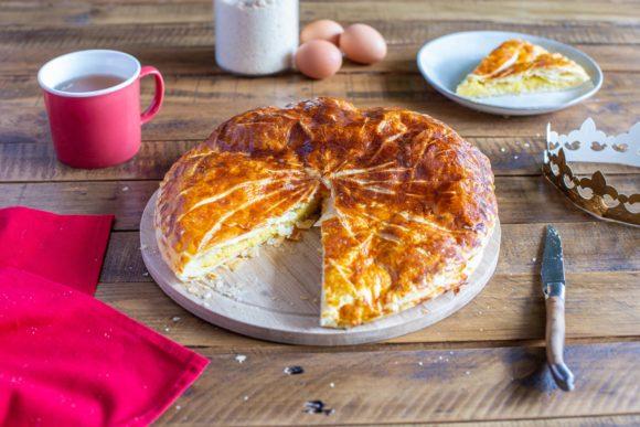Frangipane galette des rois (king cake)
