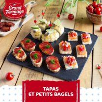 Recette Tapas et Petits Bagels